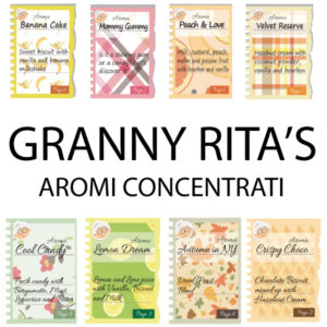 DEA Granny Rita's 10ml Aromi Concentrati