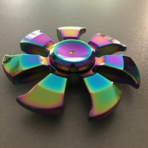 HAND SPINNER 7 LEAF RAINBOW