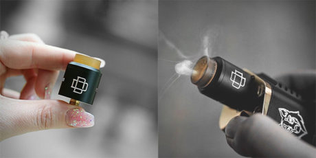 DRUGA RDA Augvape Dripper 24 BLACK