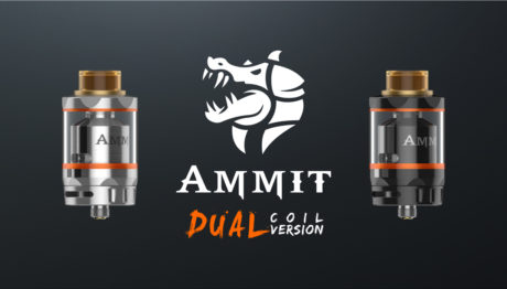 Ammit RTA Dual Coil Version Black Geekvape