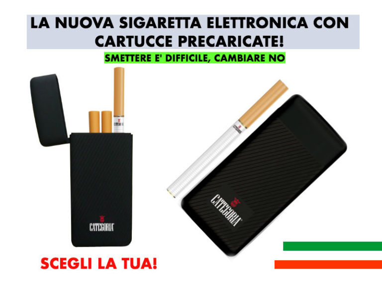 Categoria Revolution Sigaretta Elettronica