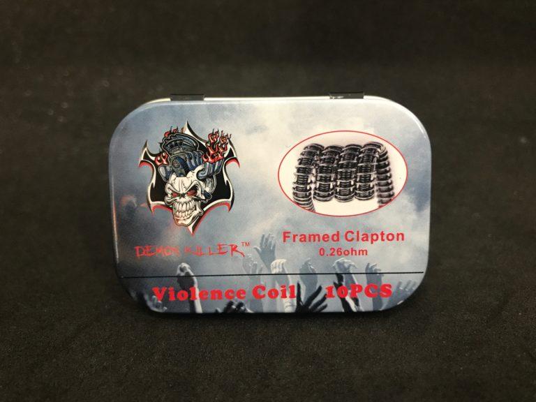 FRAMED CLAPTON 0.25OHM DEMON KILLER VIOLENCE COIL