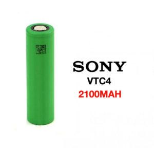 SONY VTC4 18650 2100MAH 30A FLAT TOP
