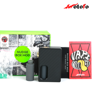 BOX NUDGE MECHA SQUONK WOTOFO BLACK