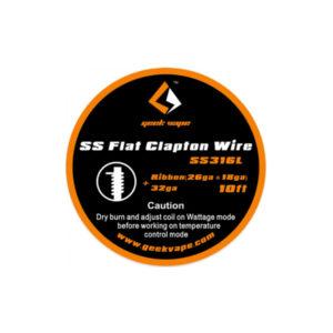 SS FLAT CLAPTON WIRE - GEEKVAPE