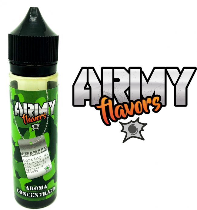 AROMI CONCENTRATI ARMY FLAVOR - IRON VAPER
