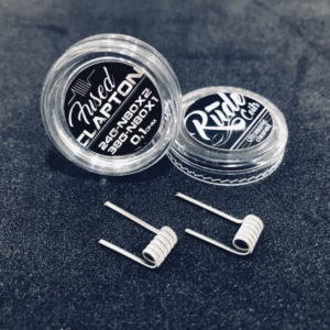 FUSED CLAPTON 0,10 OHM - RUDE COILS