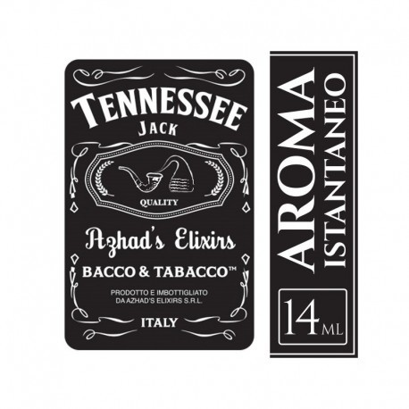 AROMA CONCENTRATO TENNESSEE 14ML BIG FORMAT - AZHAD ELIXIRS