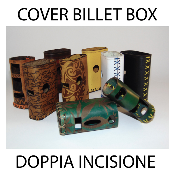 COVER BILLET BOX - DOPPIA INCISIONE