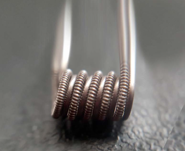 PARALLEL CLAPTON 0,1 OHM - CUSTOM WIRES