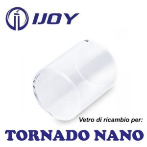 TORNADO NANO IJOY - VETRO DI RICAMBIO