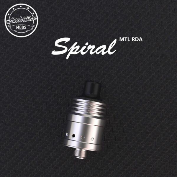 SPIRAL MTL RDA 18MM - AMBITION MODS