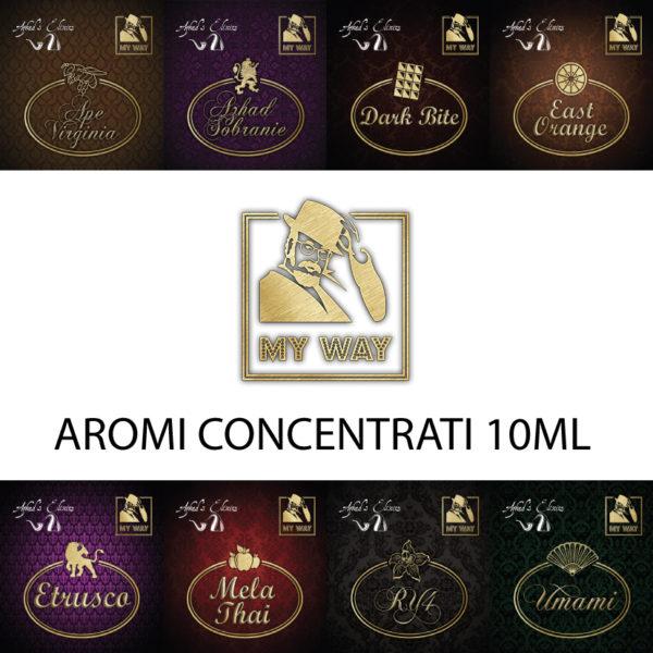 MY WAY AZHAD'S - AROMI CONCENTRATI 10ML