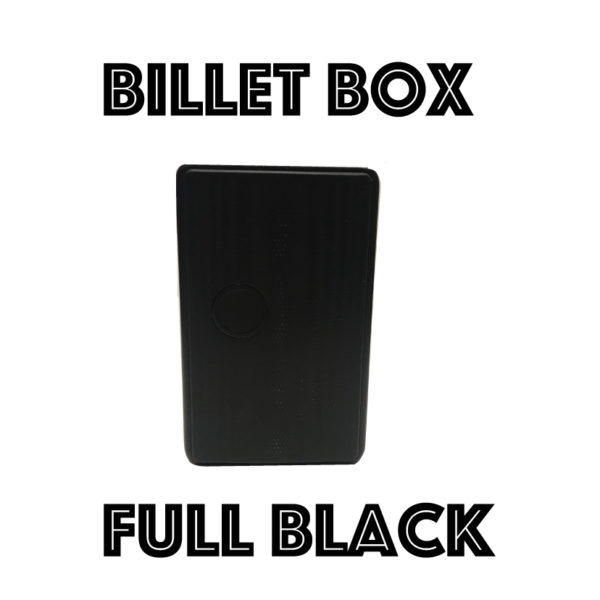 BILLET BOX VAPOR 2018 - BLACK
