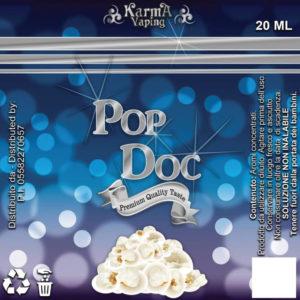 POP DOC AROMA SCOMPOSTO 20ML - IRON VAPER