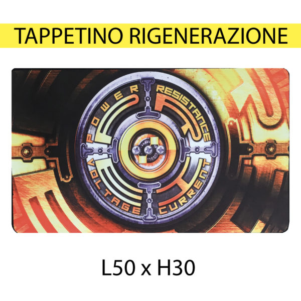 TAPPETINO RIGENERAZIONE L50XH30 CM ORANGE