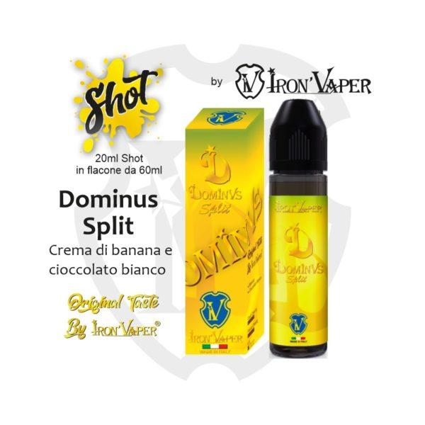 DOMINUS SPLIT AROMA SCOMPOSTO - IRON VAPER