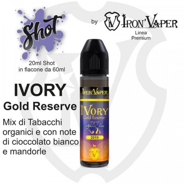 IVORY GOLD RESERVE AROMA SCOMPOSTO - IRON VAPER